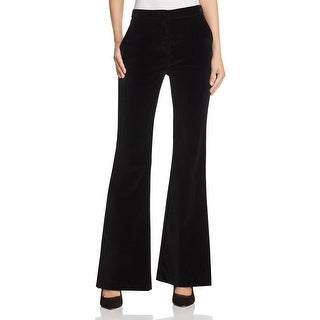 Theory Womens Trouser Pants Velvet Flat Front - 4