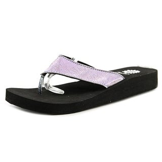 Yellow Box Antheia Women Open Toe Synthetic Flip Flop Sandal
