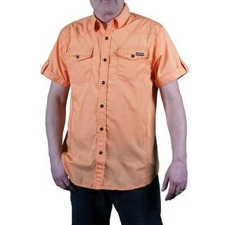 MO7 Men's Garment Washed Shirt
