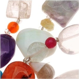 Gemstone Mix Lot Small Assorted Nugget Beads 5-8mm/14