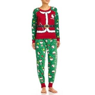Hello Kitty Holly Jolly Kitty Pajama Set