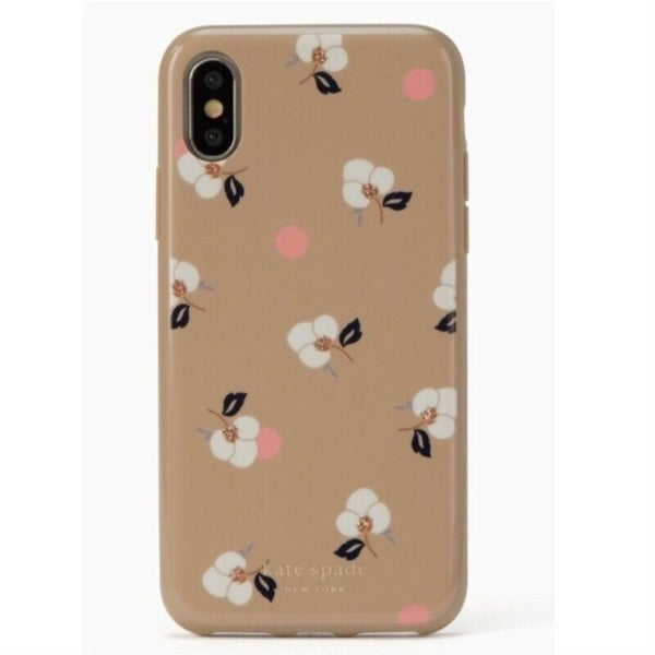 47452b495a Shop Kate Spade New York Breezy Floral Ditsy iPhone Xs Max Case, Neutral -  Free Shipping On Orders Over $45 - Overstock - 28000947