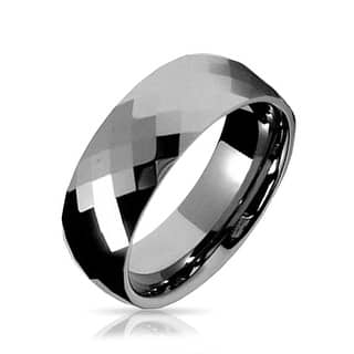 Buy Grey Men S Wedding Bands Amp Groom Wedding Rings Online At Overstock Our Best