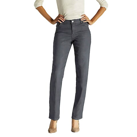 Lee Women's Relaxed Fit Straight Leg Jean, Spade