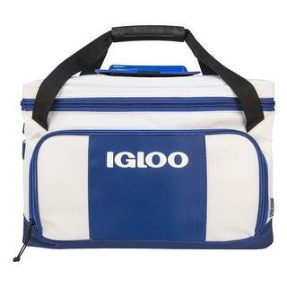 Igloo 62907 Marine Ultra Coast 46-Can Cooler Bag - White / Gray