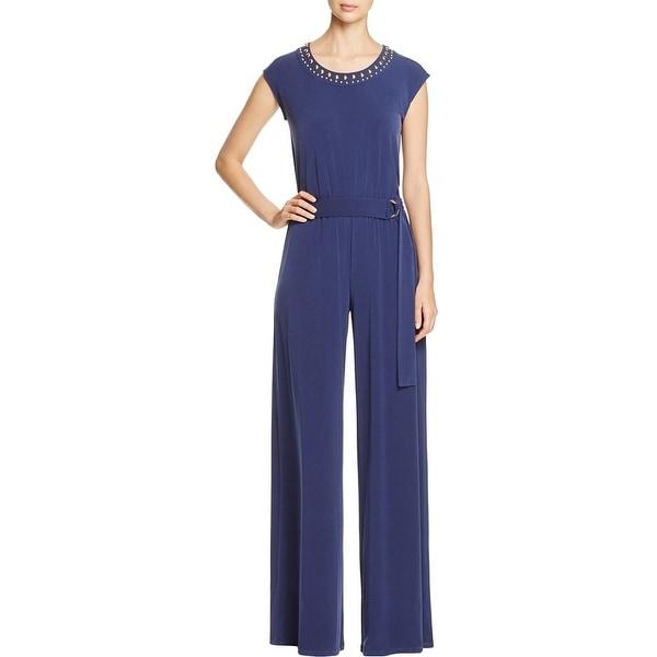 20cf421ff1 Shop MICHAEL Michael Kors Womens Jumpsuit Studded Sleeveless - Free ...