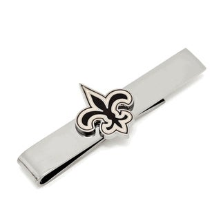 New Orleans Saints Tie Bar - Silver