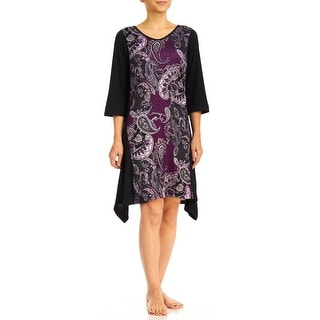 Body Touch Paisley Nightshirt