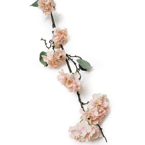 7.3ft Hydrangea Flower Vine Garland