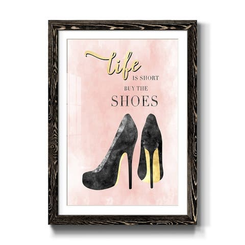 Buy the Shoes-Premium Framed Print - Ready to Hang