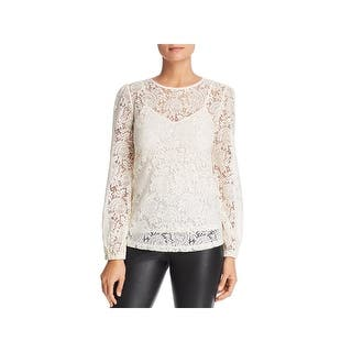 3fb55a1223e374 MICHAEL Michael Kors Womens Peasant Top Modal Blend Off-The-Shoulder. 3 of  5 Review Stars. 1. Quick View