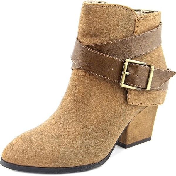 Life Stride Wendy Women Pointed Toe Suede Bootie