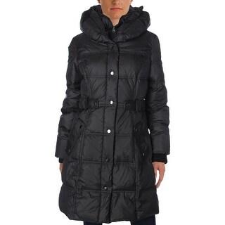 Larry Levine Womens Puffer Coat Winter Down