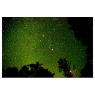 """Milky Way in the night sky, Montrose, Colorado"" Poster Print"