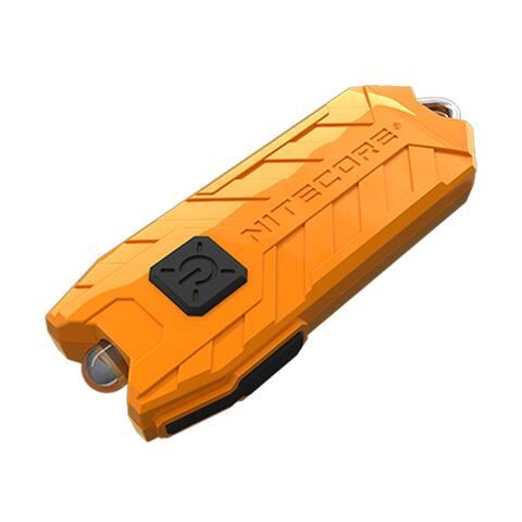 NITECORE TUBE v2.0 55 Lumen USB Rechargeable Keychain Flashlight (Orange)