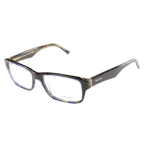 Prada PR 16MV ZXH1O1 53mm Unisex Tortoise Frame Eyeglasses 53mm