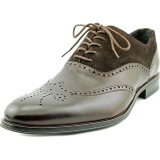 Stacy Adams Stanbury Men Round Toe Leather Brown Oxford