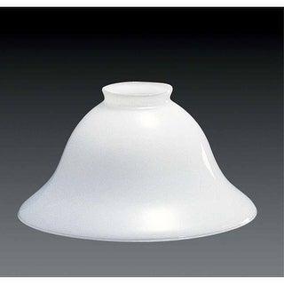 "Volume Lighting GS-40 4"" Height White Glass Bell Shade"
