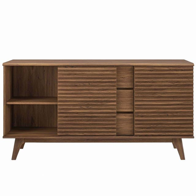 Carson Carrington Lagered Sideboard Buffet Table