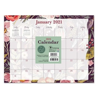 Link to 2021 Foliage and Flowers Mini Desk Pad Calendar - 12x9 Similar Items in Planners & Accessories