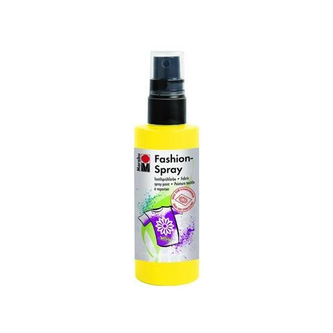17199050220 marabu fashion spray paint 3 4oz sunshine yellow