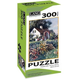 "Jigsaw Puzzle 300 Pieces 14.5""X20.5""-Seaside Cottage"