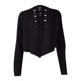 Alfani Women's Cropped Wool Cardigan Sweater