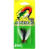 Leland Pop Eye Jig 1/32 2ct Black/White-Black