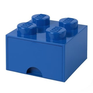 Lego Storage Brick 1 Drawer Bright Blue - Multi