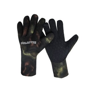 Palantic Spearfishing Scuba Diving Camouflage 3mm Neoprene Gloves