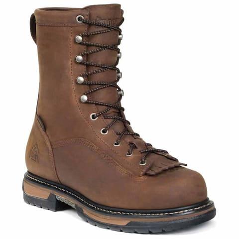 Rocky Ironclad Kiltie 8 Inch Steel Toe Waterproof Eh Work Mens Work