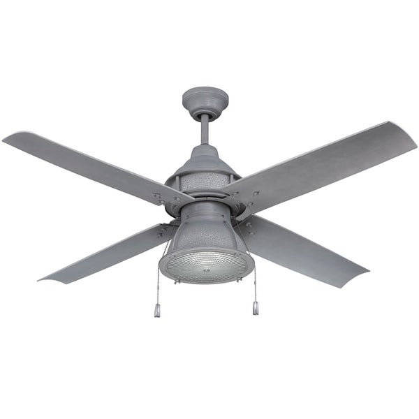 """Craftmade PAR524 Port Arbor 52"""" 4 Blade Indoor / Outdoor Ceiling Fan - Blades and Light Kit Included"""