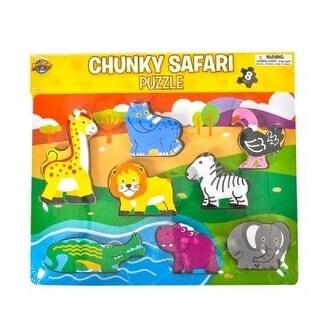 Chunky Safari Theme Puzzle, 8-Piece