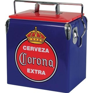 Koolatron CORVIC-13 CORONA Blue 13L Ice Chest - Silver