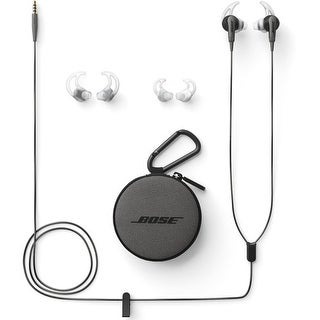 Bose SoundSport In-Ear Headphones-Audio Only (Charcoal Black)