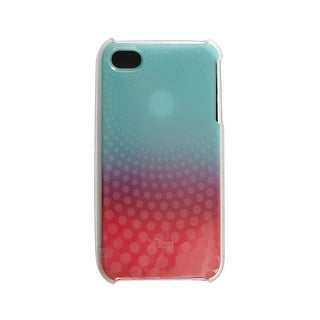 AT&T iFrogz Swerve Case for Apple iPhone 4 - Blue & Pink