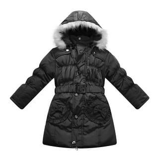 Richie House Little Girls Black Padded Belt Faux Hood Winter Jacket 5-7 (Option: 6)|https://ak1.ostkcdn.com/images/products/is/images/direct/57b70b36900f1151d13e9f3d13412a08357fdbaf/Richie-House-Little-Girls-Black-Padded-Belt-Faux-Hood-Winter-Jacket-5-7.jpg?impolicy=medium