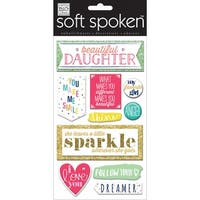 Soft Spoken Themed Embellishments-Beautiful Daughter