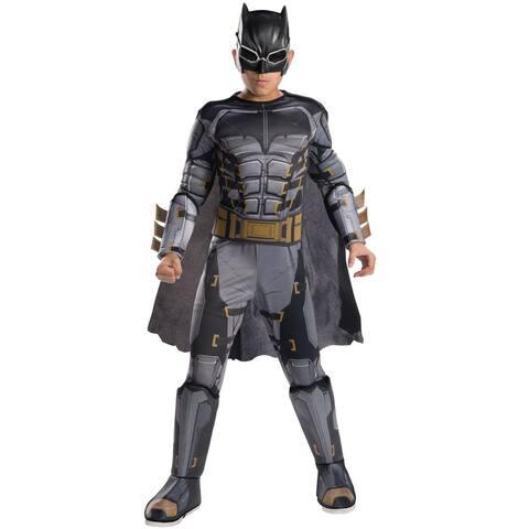 Rubies JL Deluxe Tactical Batman Child Costume - Grey