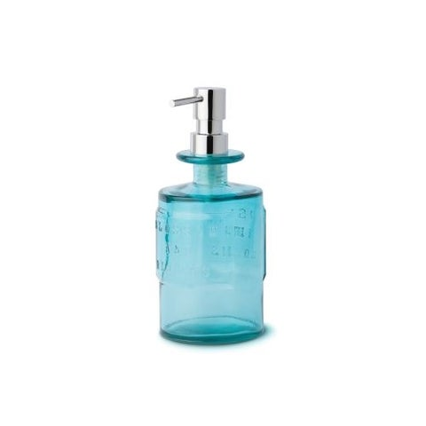 WS Bath Collections Saon 44012 Glass Soap Dispenser from the Saon Collection