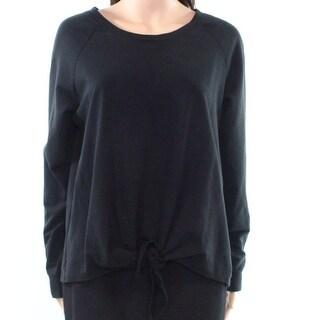 Como Vintage Womens Medium Twist Hem Pullover Sweater