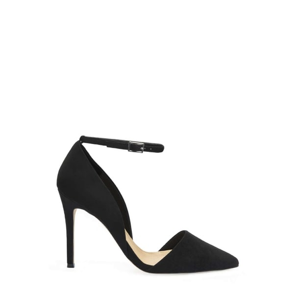 Just Fab Womens monroe Pointed Toe Ankle Strap D-orsay Pumps
