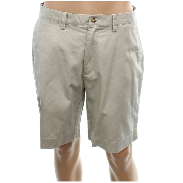 d8ca2d2ded Shop Polo Ralph Lauren Beige Mens Size 33 Classic Fit Chino Shorts - On Sale  - Free Shipping On Orders Over $45 - Overstock - 27796817