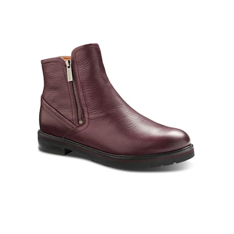 Samuel Hubbard City Zipper Women's Chukka Boot - Wine Leather