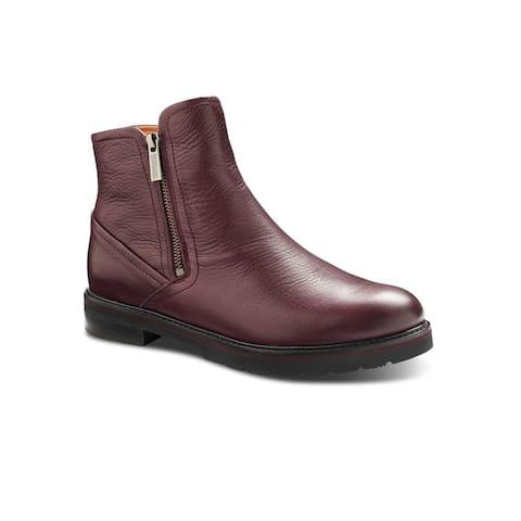 Samuel Hubbard City Zipper Women's Chukka Boot - Wine Leather