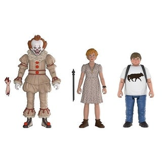 FunKo Action Figures: IT Pennywise, Beverly, Ben - 3-Pack - multi