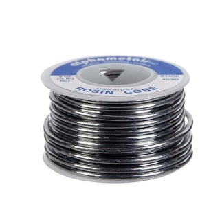 Alpha 21406 Electrical Rosin Core Solder, 8 Oz