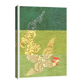 "PTM Images 9-126740  PTM Canvas Collection 8"" x 10"" - ""Fenix"" Giclee Birds Art Print on Canvas"