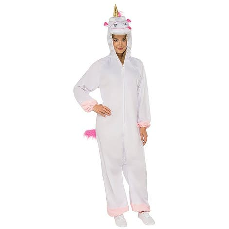 Despicable Me 3 Fluffy Unicorn Jumpsuit Adult Costume
