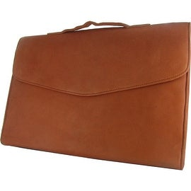 Clay Leather Briefcase by Canyon Outback Leather